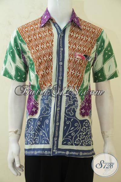 Busana Batik Keren Dengan Desain Motif Klasik Berpadu ...