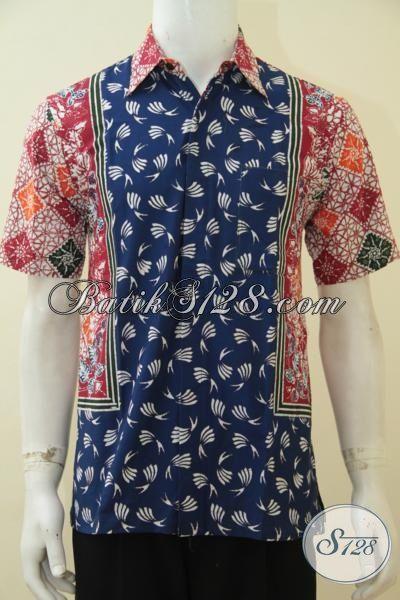 Produk Pakaian Batik Cowok Dengan Desain Motif Modern Yang ...