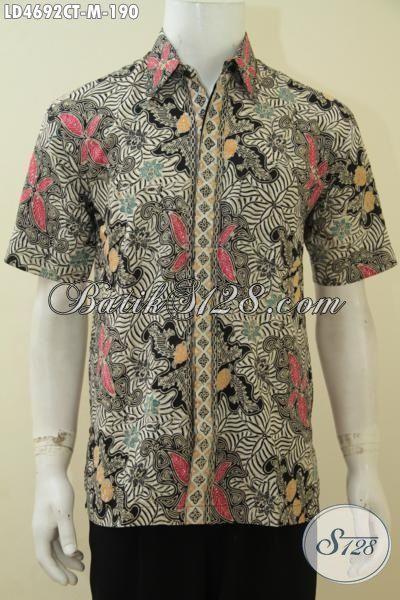 Baju Batik Keren Desain Terbaru Yang Terlihat Mewah Dan ...