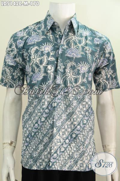 Busana Batik Modis Desain Motif Berkelas Modern Klasik ...