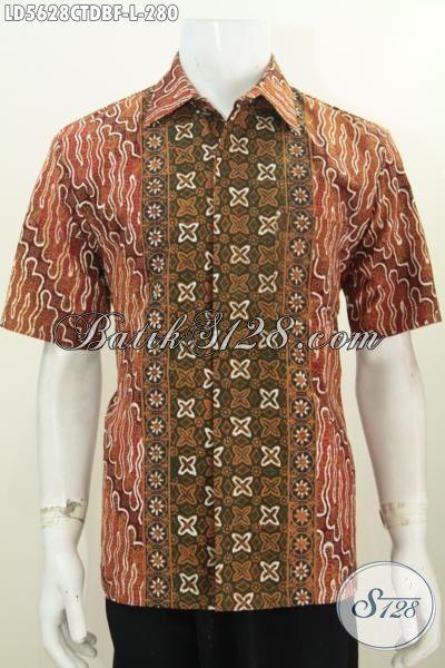 Kemeja Batik Modern Klasik Dengan Desain Motif Berkelas ...