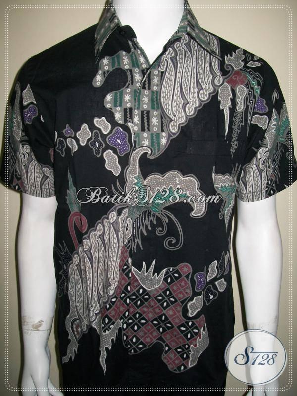 Batik Anak Muda Pria Keren Gagah Dan Maco, Batik Tulis Solo [LD571T-S]