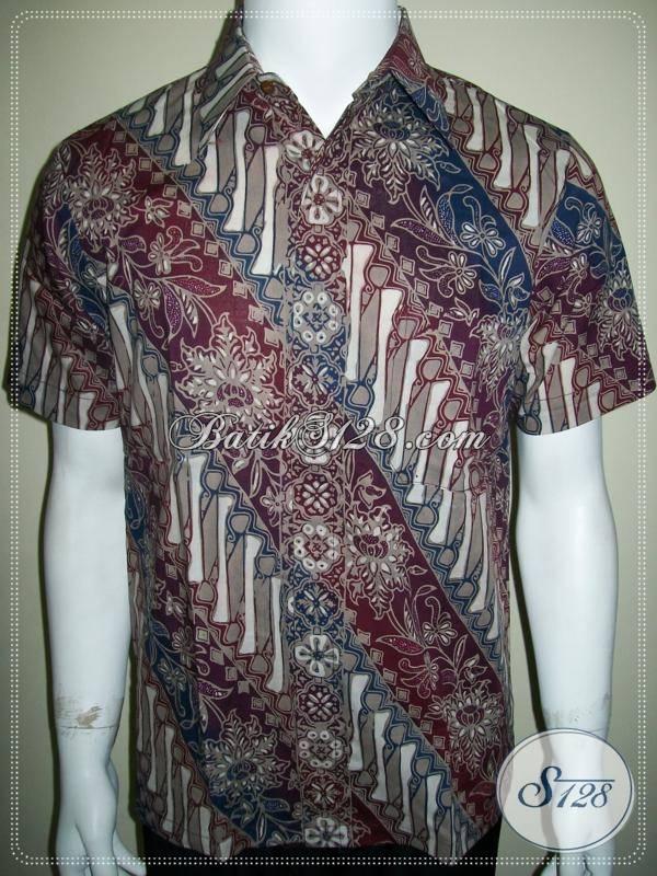 Batik Untuk Kuliah Cowok, Untuk Mahasiswa Aktif Dan Dinamis [LD574CTC-S]