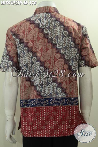 model batik gaul nampak foto belakang
