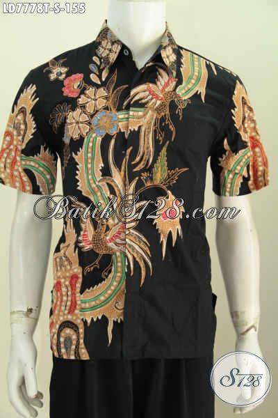 Online Shop Batik Terlengkap, Sedia Kemeja Batik Etnik Desai Keren Motif Modern Proses Tulis Hanya 150 Ribuan [LD7778T-S]