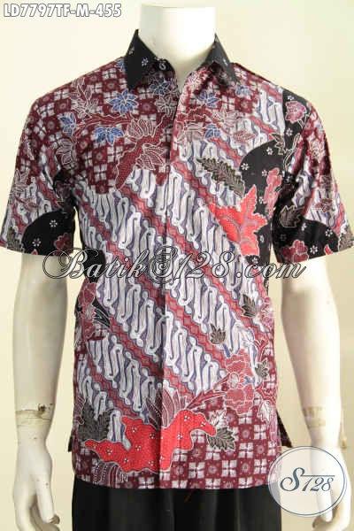 Pakaian Batik Istimewa Untuk Pria Muda, Baju Batik Yang Menunjang  Penampilan Makin Berkelas [LD7797TF-M]