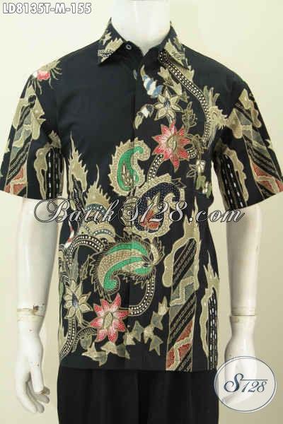 Produk Busana Batik Solo Istimewa, Baju Batik Keren Motif Terkini Untuk Tampil Gaya Dan Berkelas Proses tulis [LD8135T-M]