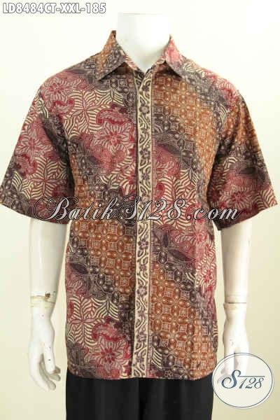 Desain Baju Batik Pria Terbaru Spesial Untuk Yang Berbadan ...