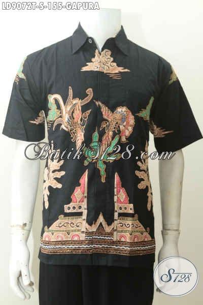 Batik Hem Motif Gapura, Baju Batik Tulis Paling Terjangkau Untuk Kerja Dan Hangout Hanya 155K [LD9072T-S]