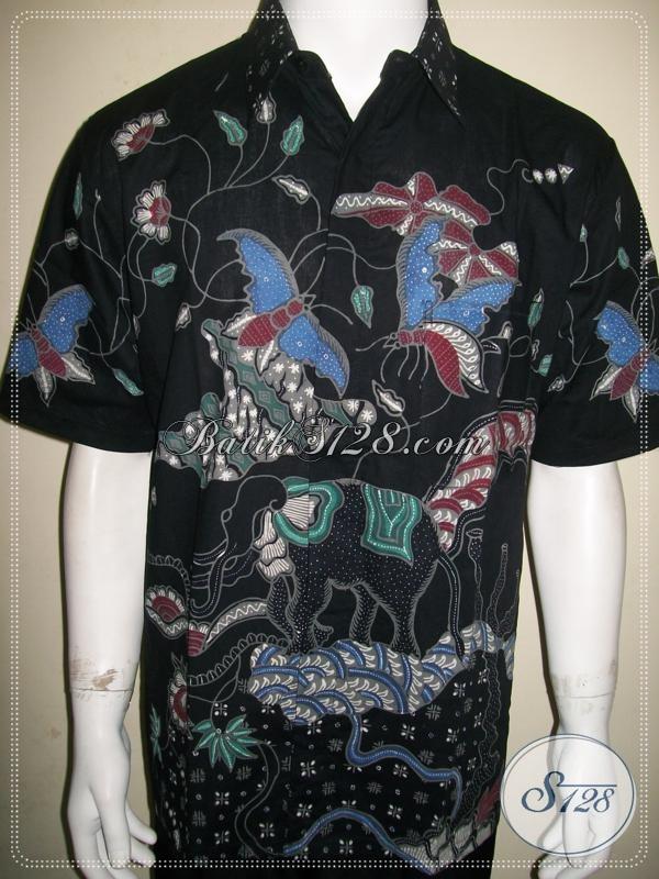Baju Batik Tulis Pria Berkualitas Bagus Dan Halus Size L [LD926T-L]