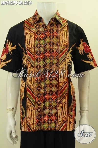 Baju Batik Tulis Motif Kombinasi, Kemeja Batik Pria Muda ...