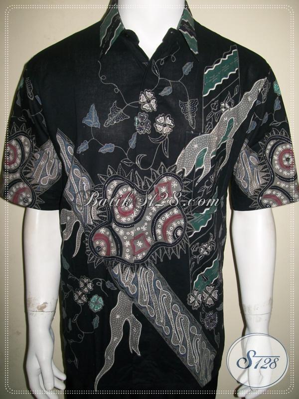 Kemeja Batik Motif Bagus-Bagus, Batik Tulis Solo Dijual Online [LD945T-L]