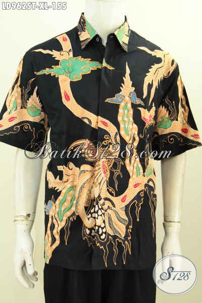Batik motif unik modern lengan pendek