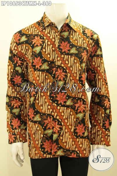 Model Baju Batik Solo Lengan Panjang Terlengkap, Busana Batik Istimewa Untuk Acara Resmi Tampil Berkelas Bahan Adem Motif Klasik Daleman Full Furing Hanya 360K [LP10653CTFMH-L]