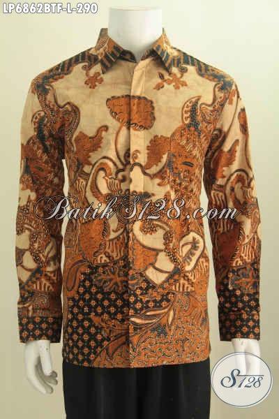 Hem Batik Klasik Dengan Desain Terbaru, Pakaian Batik ...