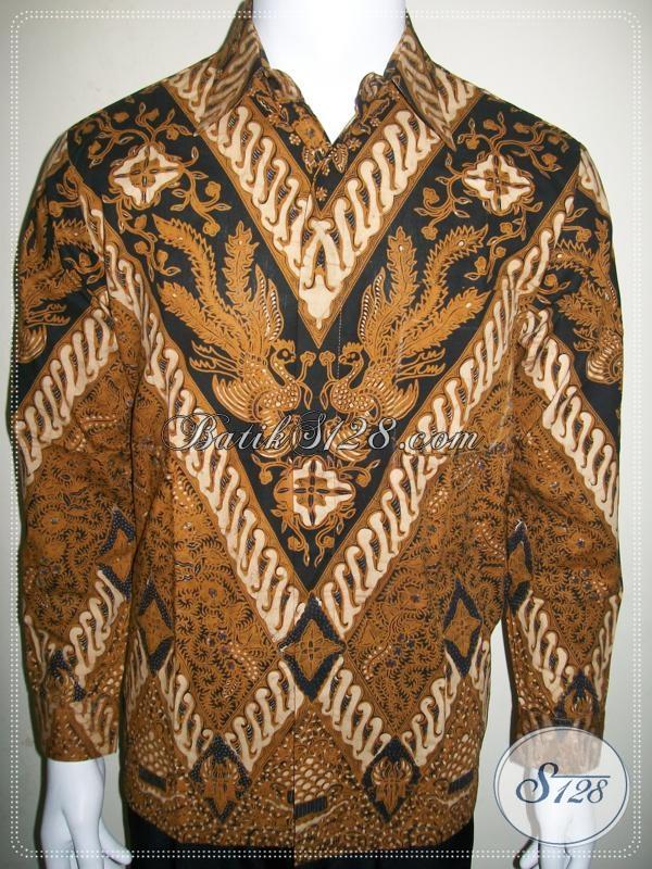 Batik Mewah Elegan Lengan Panjang Pria Motif Klasik Berkelas [LP955BT-M]