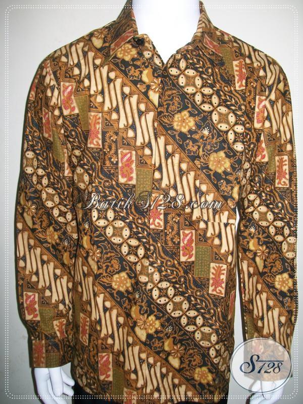 Baju Batik Pria Resmi, Untuk Acara Kondangan Dan Pesta Lainnya [LP968BT-XL]