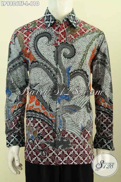 model baju batik pria masa kini motif modern