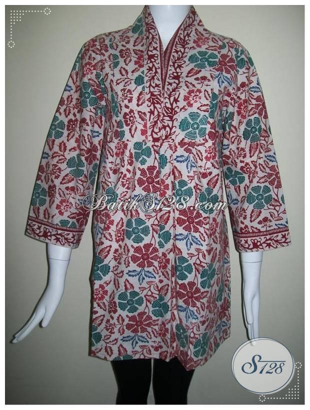 Jual Busana Batik Wanita,Batik Murah Asli Solo [BLS182]