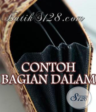 Dompet Wanita Terbaru, Bahan Batik Sutra Payet Cantik [DS0010BY]