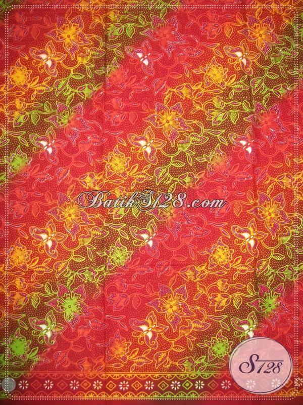 Kain Batik Asli Solo Yang Elegan Untuk Busana Batik Fashion Atau Baju BAtik Pesta [KCG561]