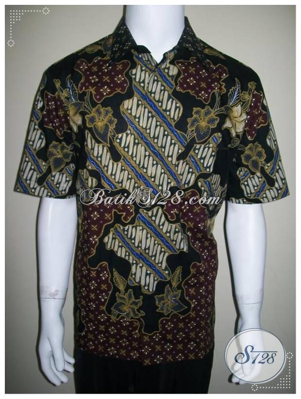 Hem Batik Eksklusif, Batik Tulis Elegan, Batik Modis [LD163T]