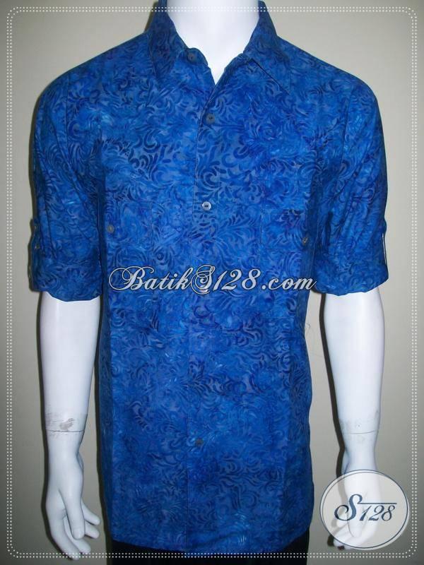 Baju Batik Casual Lengan Panjang Dilipat, Busana Batik ...